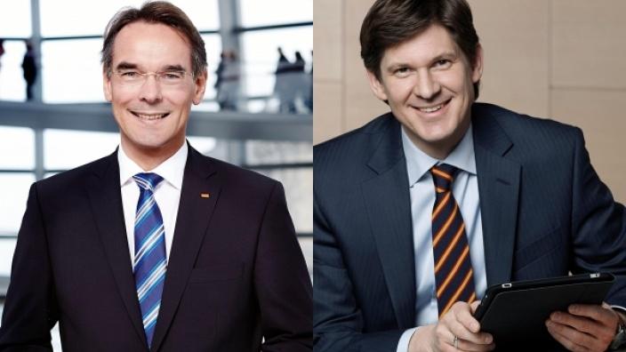 Ingbert Liebing und Ole Schröder