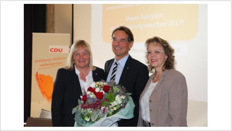CDU-Landesvorstand empfiehlt Ingbert Liebing als Spitzenkandidaten