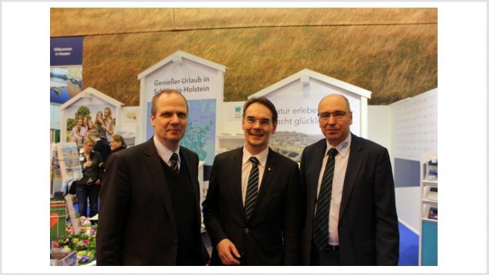 Ingbert Liebing MdB, Werner Schwarz, Stephan Gersteuer